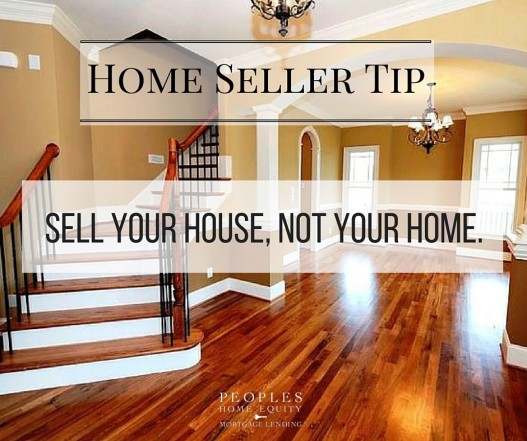 seller your house not your home