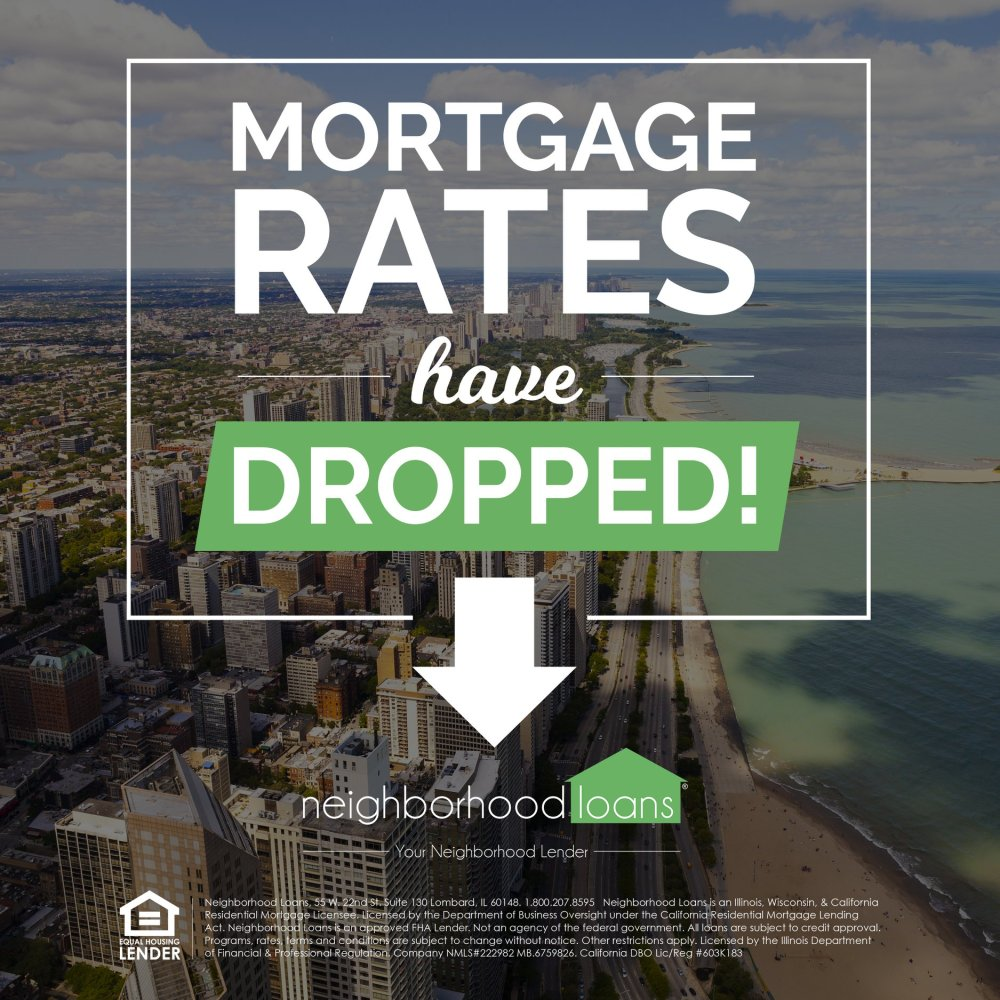mortgage rates have dropped